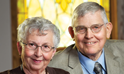 Ron and Jean Peterson Honor the Past, Provide for the Future